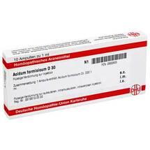 Acidum formicicum D 30 Ampullen