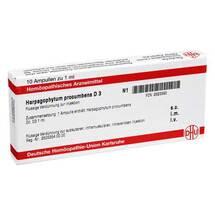 Produktbild Harpagophytum procumbens D 3 Ampullen