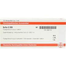 Sulfur C 200 Ampullen