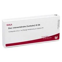 Disci Intervertebralie lumbales GL D 6 Ampullen