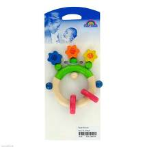 Produktbild Baby Rassel Blumen