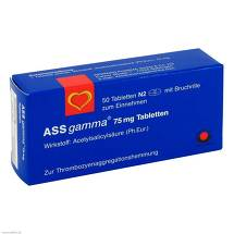 Produktbild ASS Gamma 75 mg Tabletten