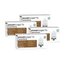 Produktbild Procain Loges 1% Injektionslösung Ampullen
