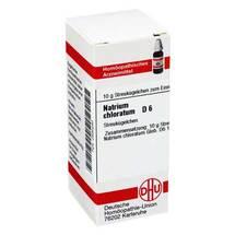 Natrium chloratum D 6 Globuli