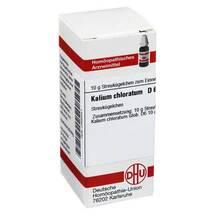 Kalium chloratum D 6 Globuli
