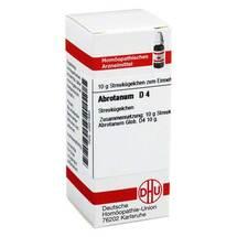Produktbild Abrotanum D 4 Globuli