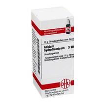 Acidum hydrofluoricum D 10 G