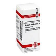 Acidum nitricum D 30 Globuli