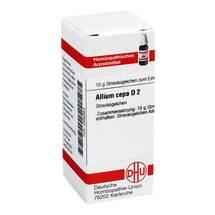 Produktbild Allium cepa D 2 Globuli