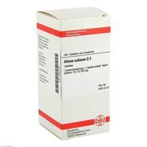 Produktbild Allium sativum D 3 Tabletten