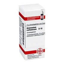 Ammonium carbonicum D 10 Globuli