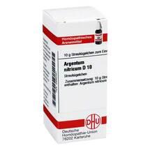 Produktbild Argentum nitricum D 10 Globuli