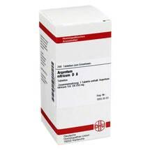 Produktbild Argentum nitricum D 8 Tabletten