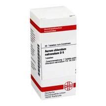 Produktbild Aurum chloratum natronatum D 6 Tabletten