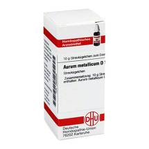 Produktbild Aurum metallicum D 10 Globuli