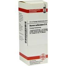 Produktbild Aurum Sulfuratum D 6 Dilution