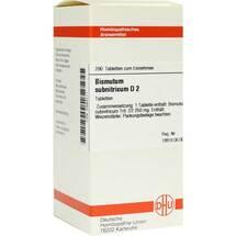 Produktbild Bismutum Subnitricum D 2 Tabletten