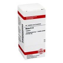 Borax D 12 Tabletten