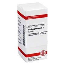Produktbild Cardiospermum D 4 Tabletten
