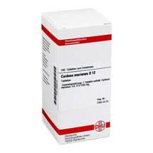 Produktbild Carduus marianus D 12 Tabletten