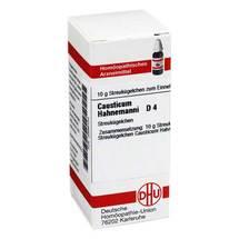 Produktbild causticum Hahnemanni D 4 Globuli