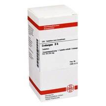 Produktbild Crataegus D 6 Tabletten