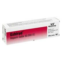 Produktbild Exhirud Heparin Salbe 60.000 I.E.
