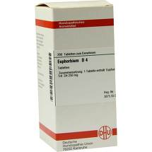 Produktbild Euphorbium D 4 Tabletten