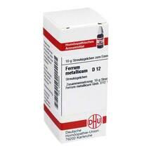 Produktbild Ferrum metallicum D 12 Globuli