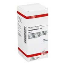 Produktbild Fucus vesiculosus D 4 Tabletten