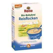 Produktbild Holle Bio Babybrei Reisflocken