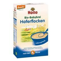 Produktbild Holle Bio Babybrei Haferflocken