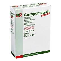 Curapor Wundverband transparent 8x10 cm steril