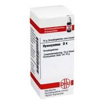Produktbild Hyoscyamus D 4 Globuli