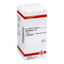 Produktbild Hyoscyamus D 6 Tabletten