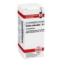 Kalium chloratum D 4 Globuli