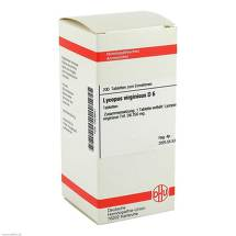 Produktbild Lycopus virg. D 6 Tabletten
