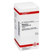 Produktbild Magnesium carbonicum D 12 Tabletten