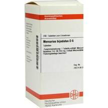 Produktbild Mercurius bijodatus D 6 Tabletten