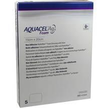 Produktbild Aquacel Ag Foam nicht adhäsiv 15x20cm Verband