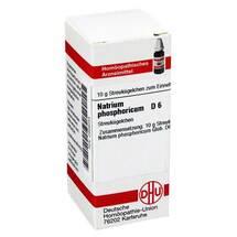 Produktbild Natrium phosphoricum D 6 Globuli