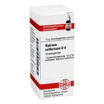 Produktbild Natrium sulfuricum D 4 Globuli