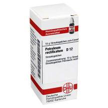 Produktbild Petroleum rectificatum D 12 Globuli
