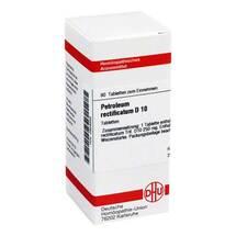 Petroleum rectificatum D 10 Tabletten