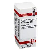 Produktbild Phytolacca C 30 Globuli