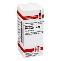 Produktbild Plumbum metallicum D 30 Globuli