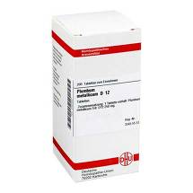 Plumbum metallicum D 12 Tabletten