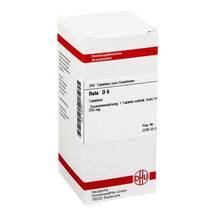 Produktbild Ruta D 6 Tabletten