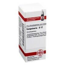 Produktbild Sanguinaria D 12 Globuli