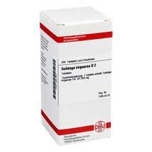 Produktbild Solidago virgaurea D 2 Tabletten
